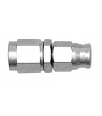 Stainless, straight female thread  3/8UNF, to fit 3AN hose