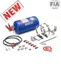 Sparco Mechanical Fire Extinguisher Kit 01496MSL